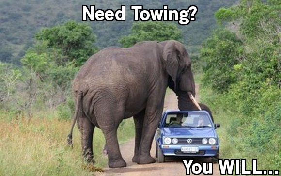 need towing